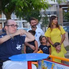 Inaugurazione giostra inclusiva a cura di AMARAM Onlus