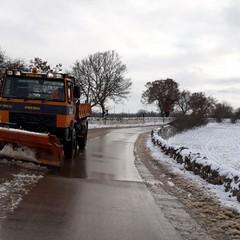 Neve e ghiaccio sulle strade