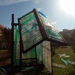 """Distrutta dai vandali la serra eco-sostenibile del progetto """"gREenhoUSE"""""""