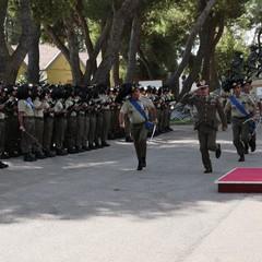 Cambio del comando al 7° Reggimento Bersaglieri