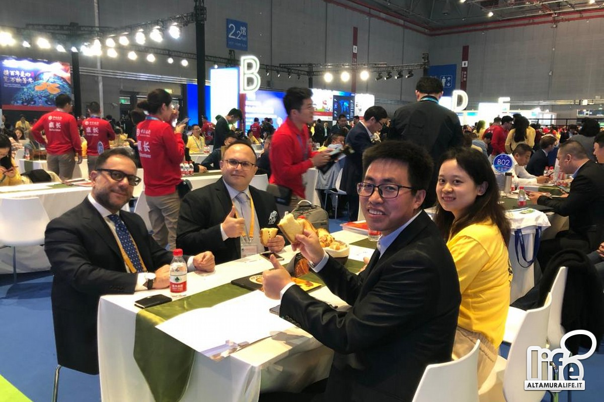 Oropan e i buyer cinesi alla CIIE di Shanghai