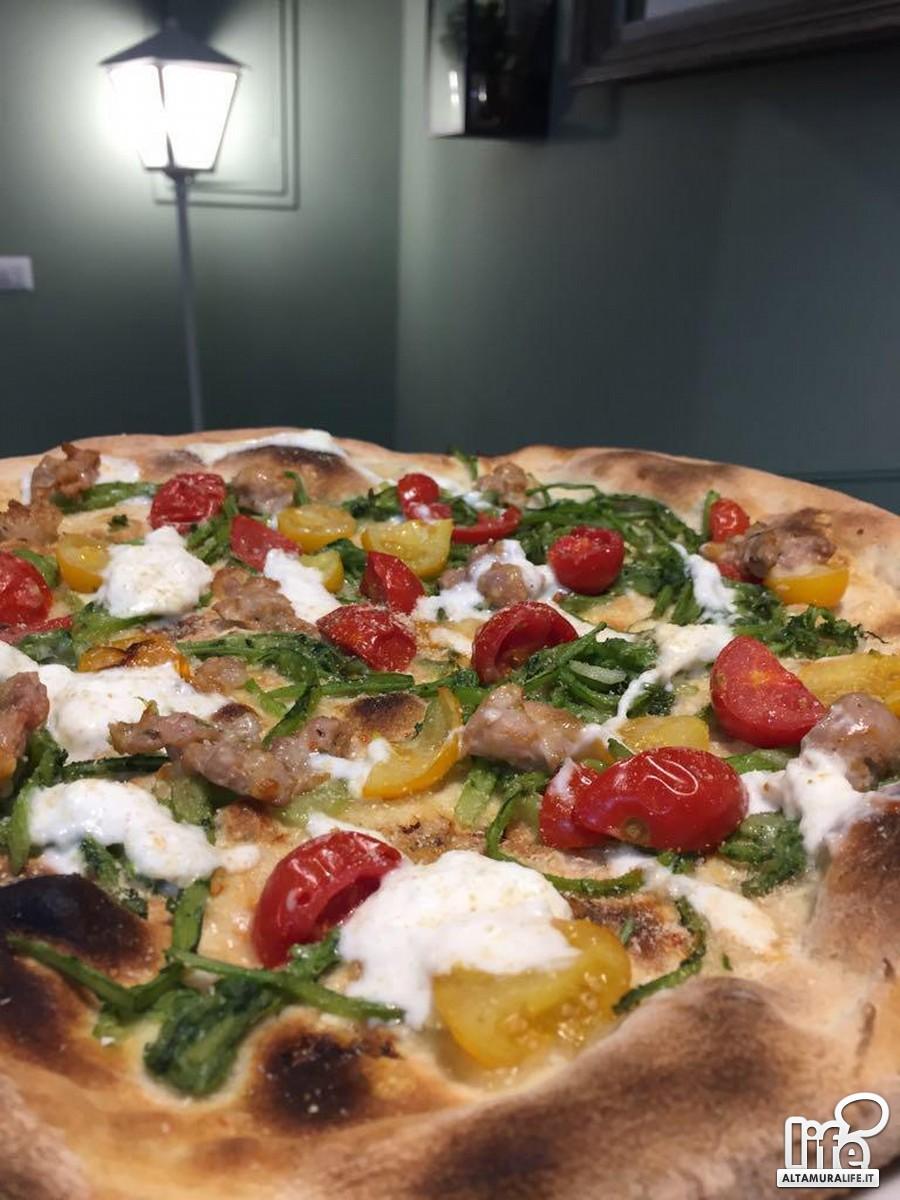Pizza con cardoncelli (verdura) di Francesco Lasaponara