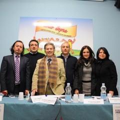 Da sinistra dott. P. Vicenti, dott. S. Anelli, dott. T. Cardano, dott. A. Angelastri, dott.ssa A. Pe