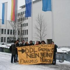 Iniziativa degli studenti Erasmus a Monaco di Baviera
