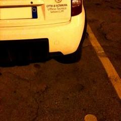 Auto in sosta parcheggi diversamente abili