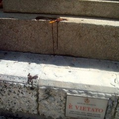 gelato su monumento