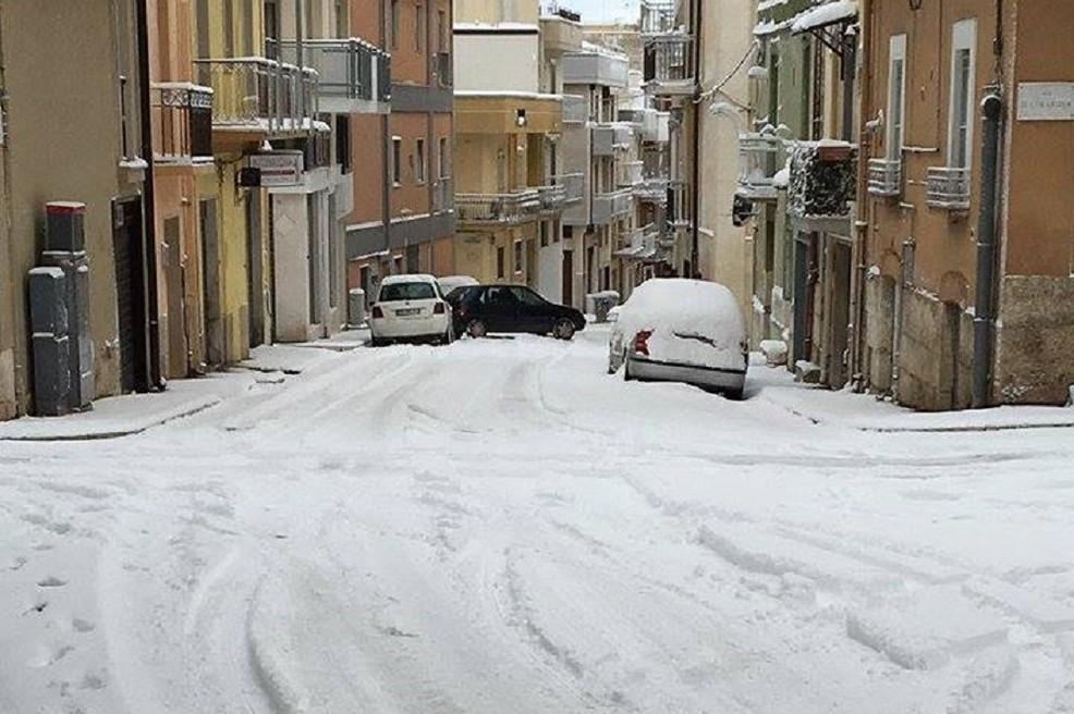 Neve ad Altamura