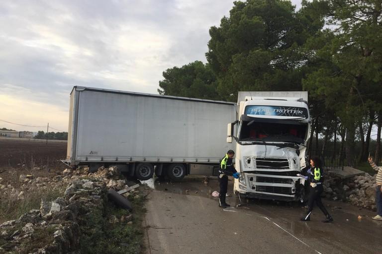 Incidente sulla strada provinciale Altamura Ruvo del 16 ottobre 2018
