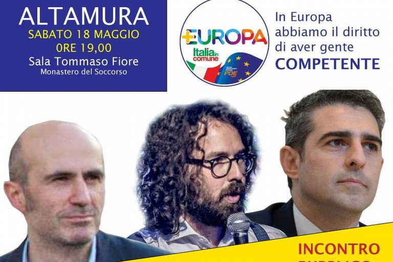 Incontro elettorale di Italia in Comune