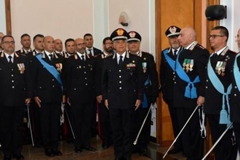 carabinieri puglia nuovo comandante manzo