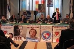 Lillino Colonna presenta la propria coalizione