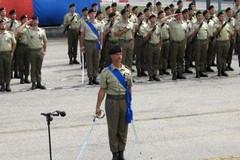 Cambio del comando al 31° Reggimento Carri