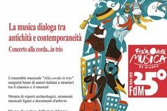 La musica dialoga tra antichità e contemporaneità - concerto alla corda in trio