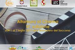 """VI Edizione di """"Altamura al Cinema"""", dall'1 al 7 luglio"""