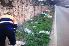 Linea dura contro l'abbandono di rifiuti, altre sessanta multe