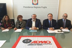 Emiliano e Leo sottoscrivono un Protocollo d'intesa con l'Admo e l'Ufficio Scolastico Regionale
