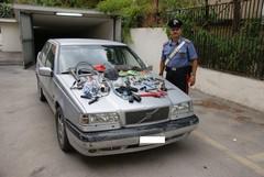 Ritrovata un'auto rubata ad Altamura tre mesi fa