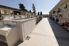 Cimitero, completati i lavori nella parte vecchia