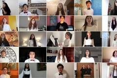 Il coro Verdi Voci nell'orchestra mondiale dell'inno alla gioia