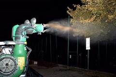 Zanzare, stanotte un altro intervento di disinfestazione