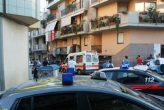 Auto in fiamme trovata poco dopo l'omicidio di Fraccalvieri