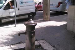Chiusa la fontana di via Matera