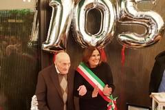 """Il """"nonno"""" di Altamura festeggia 105 anni"""