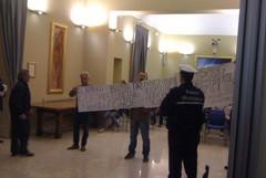 """Manifestazione pacifica del comitato """"Via Vecchia Buoncammino"""""""