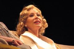 """Ornella Muti in """"L'Ebreo"""", ieri al CineTeatro Mangiatordi"""