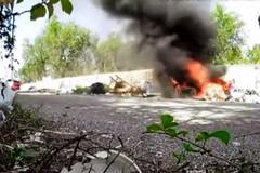 Incendio di rifiuti, scoperto e denunciato il responsabile