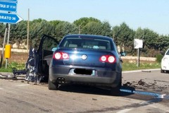 Incidente al solito incrocio della strada Altamura Corato