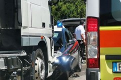 Due carabinieri feriti in un incidente