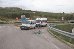 Incidente tra la ex statale 96 e la statale 96 bis