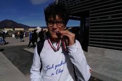 Davide Lorusso medaglia d'argento ai Campionati Italiani su pista U16. a Cles