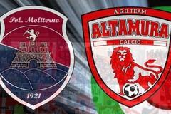 Malumori per l'1-1 tra Moliterno e Team Altamura