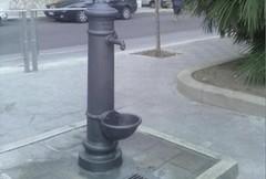 Un fontanino per l'area verde di via Persio