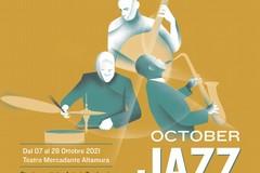 Al Teatro Mercadante la rassegna October Jazz tutti i giovedì del mese