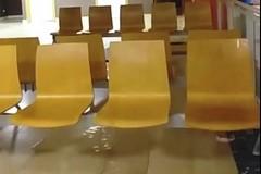 """""""All'Ospedale della Murgia non si puliscono i pluviali"""""""