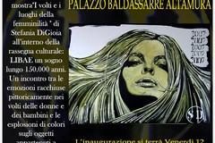 """""""I volti e i luoghi della femminilità"""", mostra d'arte di Digioia a Palazzo Baldassarre"""