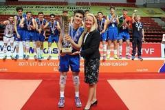 Volley Under 19, un altamurano sul tetto del mondo