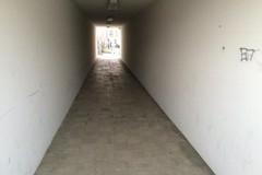 Effettuata la pulizia del sottopasso in via Colletta