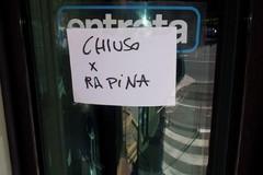 Rapina in banca in via Fiume