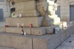 Piazza Duomo, immondezzaio a cielo aperto