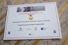 """Concorso nazionale """"La Scuola adotta un monumento"""": medaglia d'oro per il V C.D. """"San Francesco d'Assisi"""""""