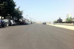 Asfaltate le strade della zona industriale altamurana