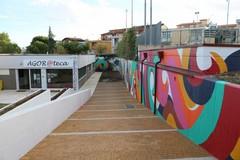 """I muri della scuola per la """"street art"""""""