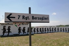 Il settimo reggimento Bersaglieri si apre alla street art