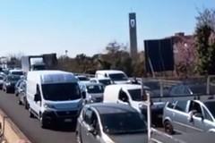 Bloccata la tangenziale di Bari per protesta