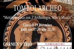 Tombolarcheo e Amore e Psiche al museo archeologico di Altamura