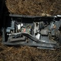 La forestale di Altamura recupera furgone e cassaforte rubati